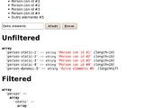 Vifito_Filter_Unhyphenate, un filtro de ZF para arrays